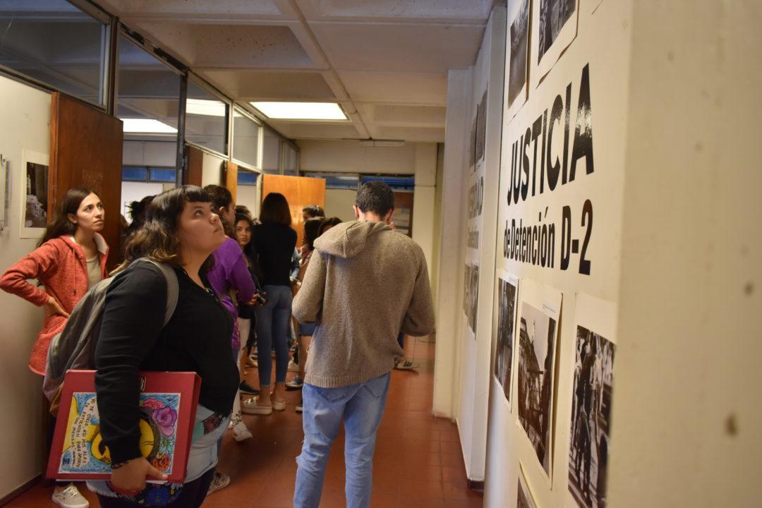 Estudiantes en el recorrido al EPM exD2